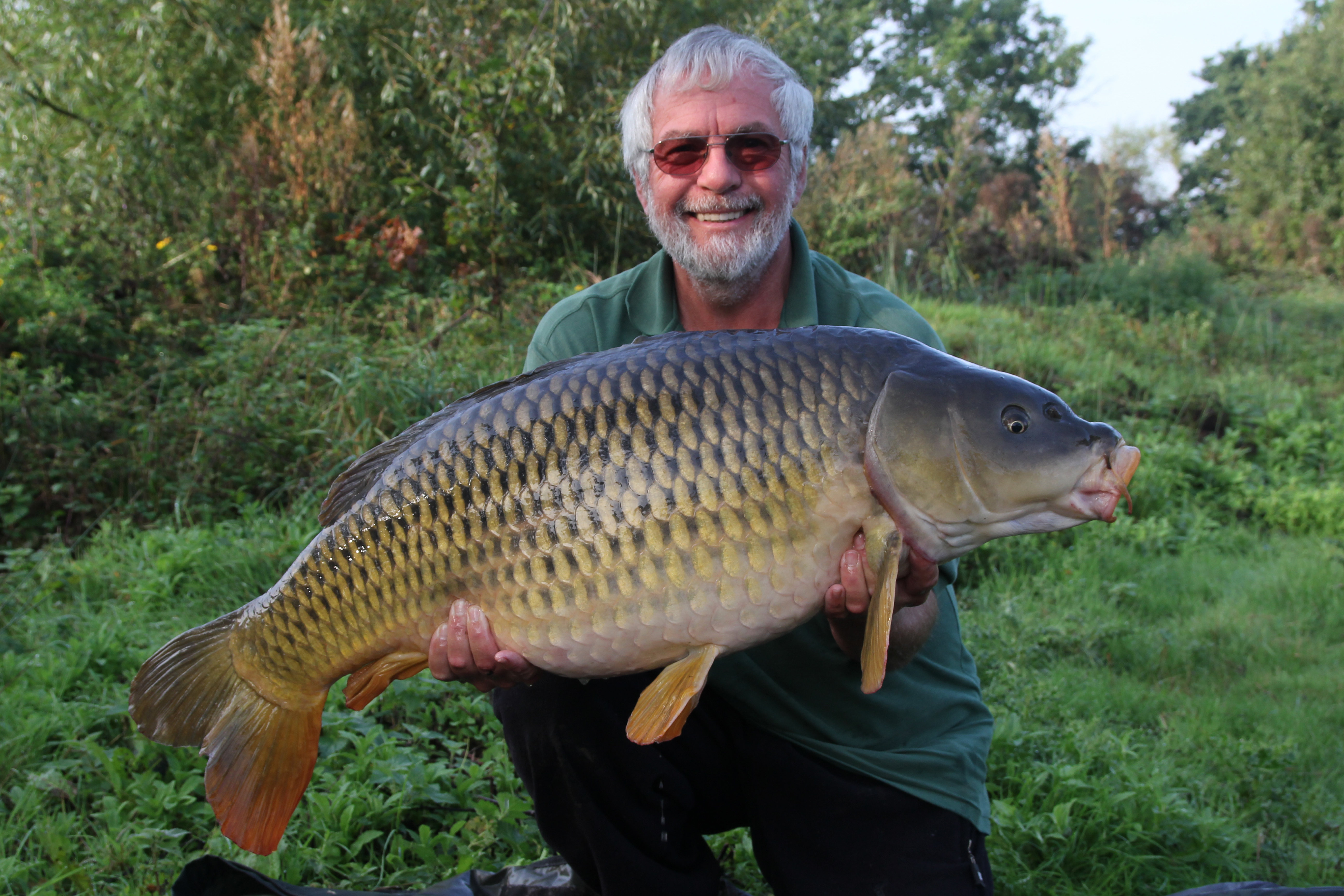 Wild carp fishing in the wetlands for Fish s wild