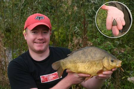 The humble plummet is vital if you wish to turn a dip of the float into a stunning crucian carp.