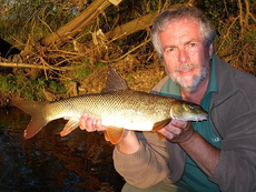 Not the best picture ever, or my biggest Barbel, but the result of a really atmospheric evenings fishing on the River Trent. A