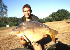 A stunning 40lb+ French mirror, caught from a lake that had rarely been fished before. I love targeting venues with unknown sto