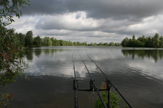 Storm clouds over Linear fisheries Oxlease lake