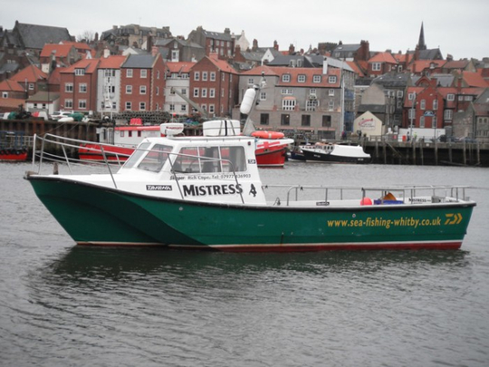 Mistress Charter fishing runs out of Whitby.
