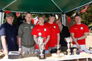 Simon Bangert (green) and the Welham team who did a brilliant job hosting the event.