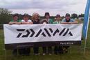 The winning Valley School team with Sandra Scotthorne.