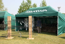 The Daiwa marquee ready for action