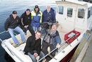 Steve Souter and the Tight Lines cameras (Pic by Mark Burgess, Shetland Times)