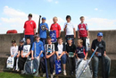 Group photo after the presentation of prizes and Goodie bags from Daiwa.