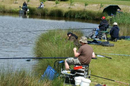 Keen and concentrating at Fourways fishery