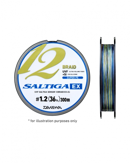 SALTIGA 12 BRAID | <b>Daiwa</b>sports.co.uk