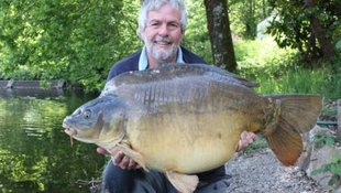 A stunning 56lb plus mirror, I was over the moon.